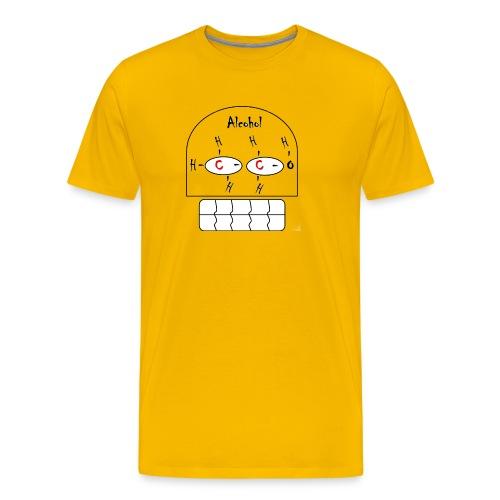 FORMULA QUIMICA ALCOHOL - Camiseta premium hombre