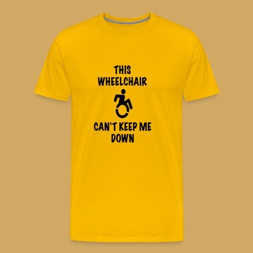 Cantkeepme - Mannen Premium T-shirt