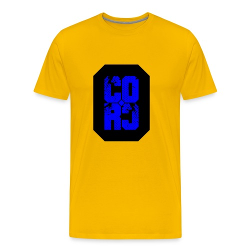 CORC blue - Premium T-skjorte for menn