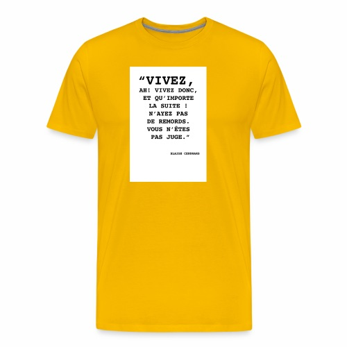 Cendrars#02 - T-shirt Premium Homme