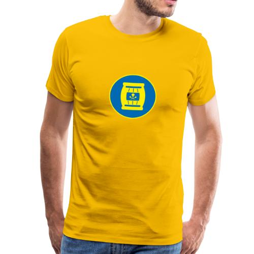 Team Tönnchen Logo ohne Typo in Vicky-Farben - Männer Premium T-Shirt