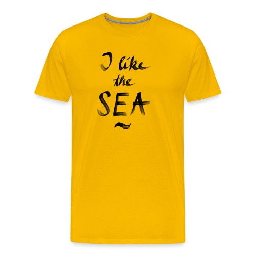 eissegler i like the sea - Männer Premium T-Shirt