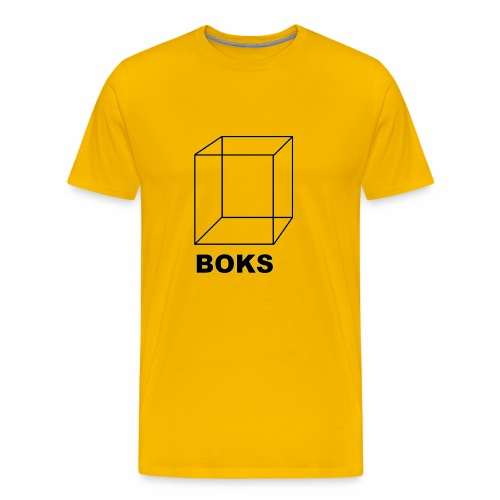 boks transparant - Mannen Premium T-shirt