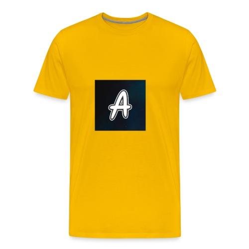 arve logo 2 - Premium T-skjorte for menn