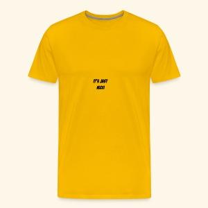 Just alexi - Herre premium T-shirt