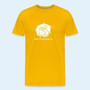 Wilde Wämser Logo - Männer Premium T-Shirt