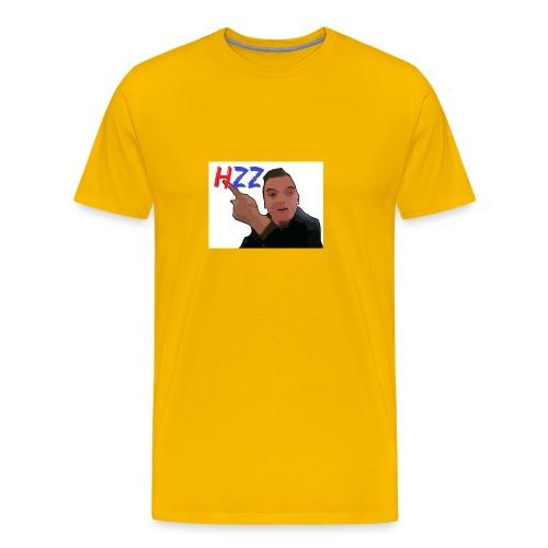 hetzeizo t-shirt vrouw - Mannen Premium T-shirt