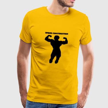 Under Construction - Premium-T-shirt herr