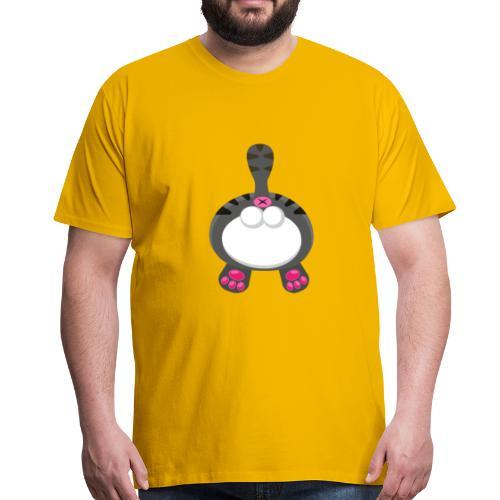 Katzen PoPo - Männer Premium T-Shirt