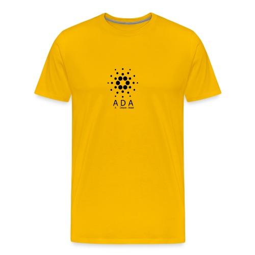 A Dream Asset Cardano - Männer Premium T-Shirt