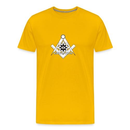 EBURD ILLUMINATI - Männer Premium T-Shirt