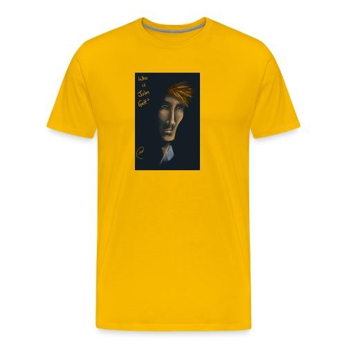 Wer ist John Galt - Männer Premium T-Shirt