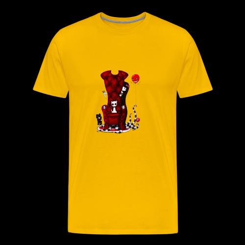 Cruelle petite fille - T-shirt Premium Homme