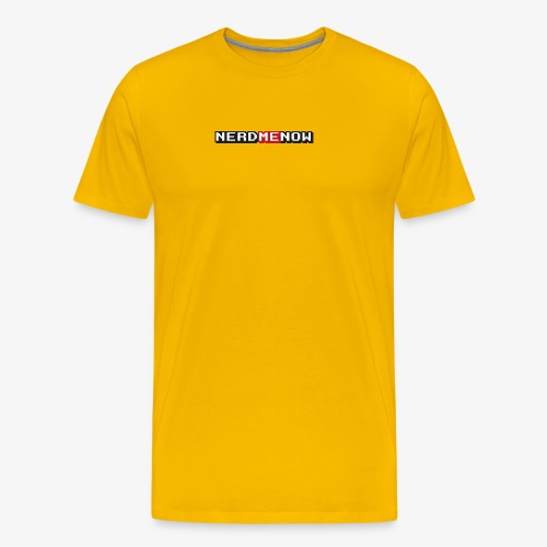 NERDmeNOW Logo - Männer Premium T-Shirt