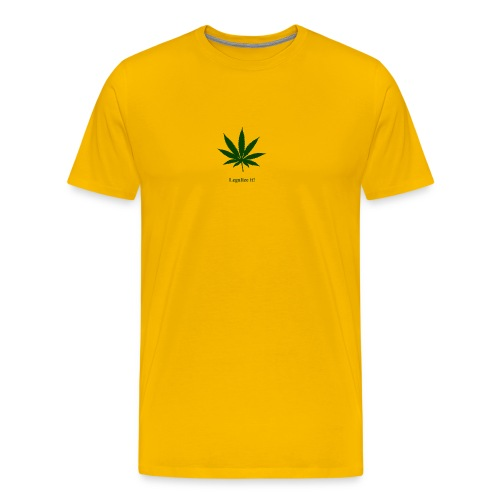 Legalize it Green - Männer Premium T-Shirt