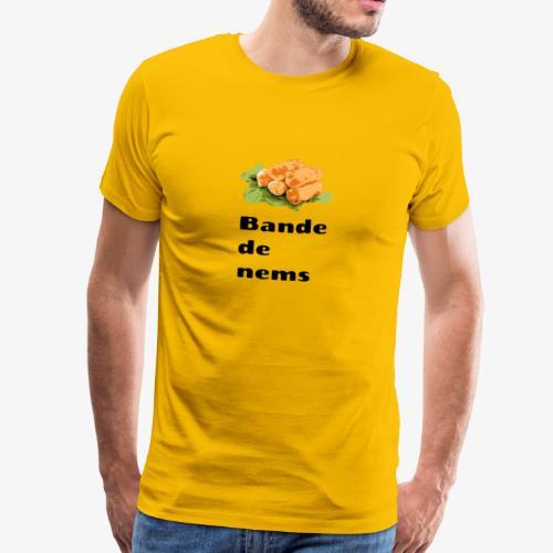 Bande de nems - T-shirt Premium Homme