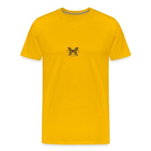 vlinder - Mannen Premium T-shirt