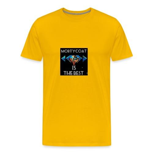 mortycoat diamond design - Men's Premium T-Shirt