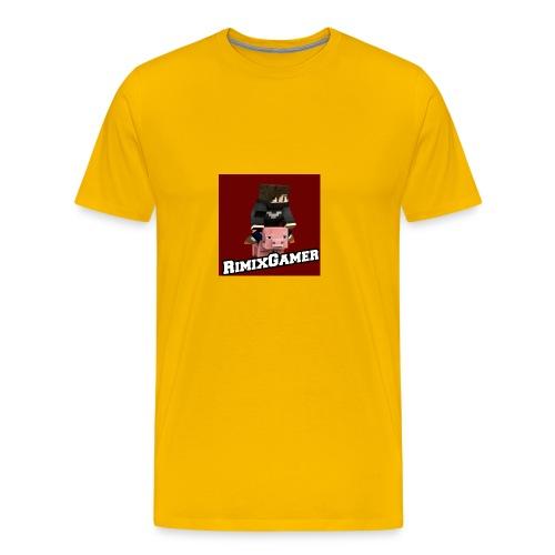Das Logo von RimixGamer - Männer Premium T-Shirt