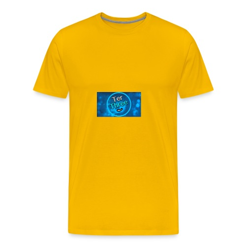 Ter Three official YouTube profile picture - Men's Premium T-Shirt