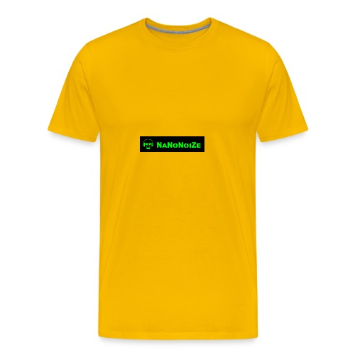 logo full - Mannen Premium T-shirt
