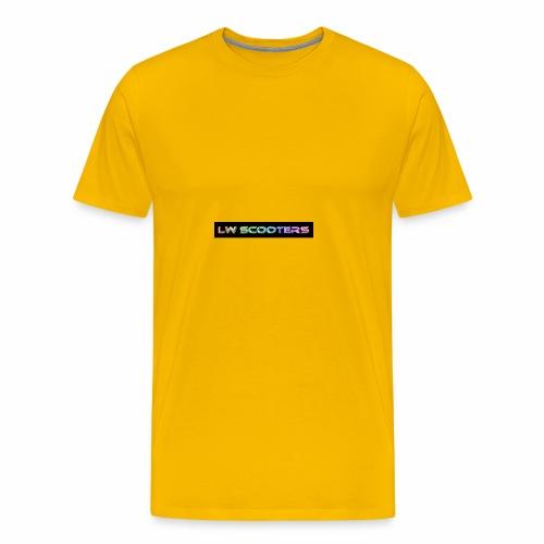 Lw Scooters hoodie - Men's Premium T-Shirt