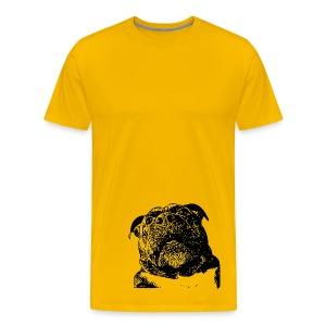 CarbonKulture Photobomb-Dog - Men's Premium T-Shirt