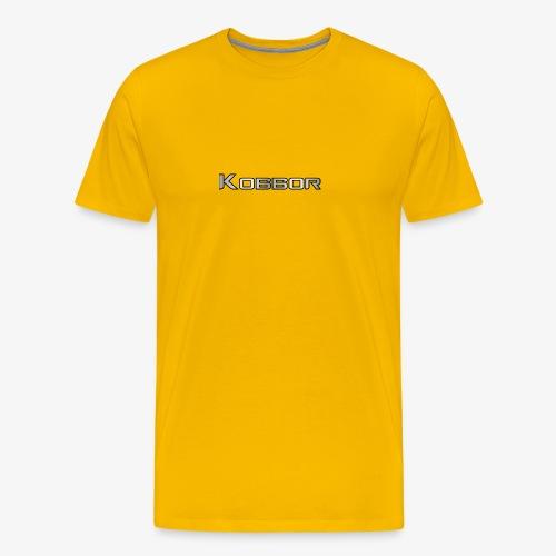 Kobbor In Grey - Men's Premium T-Shirt