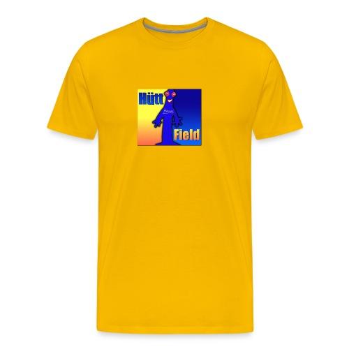 Hüttfield-Logo - Männer Premium T-Shirt