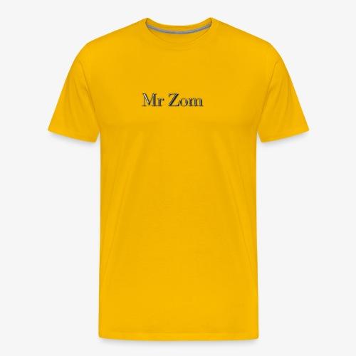 Mr Zom Text - Men's Premium T-Shirt