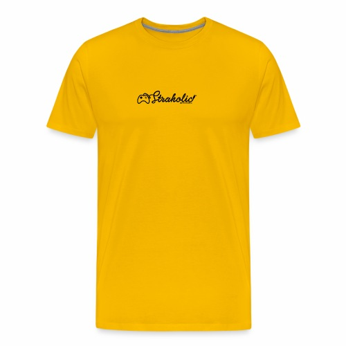 Straholic - Logo - Premium-T-shirt herr