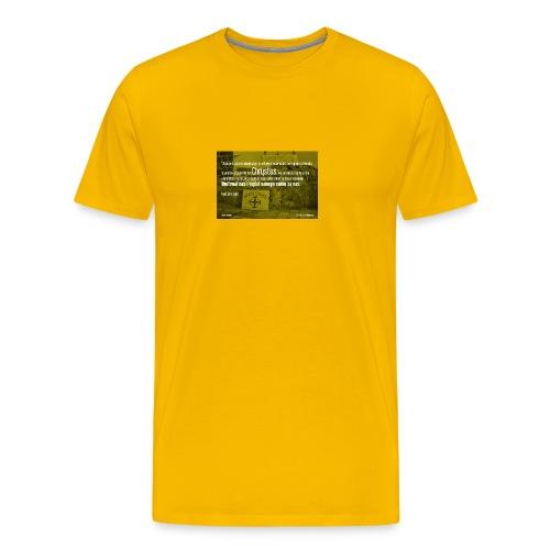 Oddać życie za bliźnich - Koszulka męska Premium