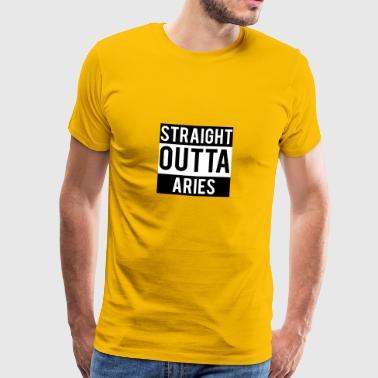 Aries / Ram van de dierenriem - Mannen Premium T-shirt