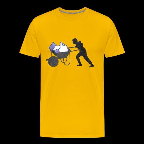 HEAVY LIKES - Maglietta Premium da uomo
