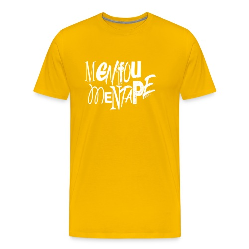 MENFOUMENTAPE (blanc sans contours) by Alice Kara - T-shirt Premium Homme