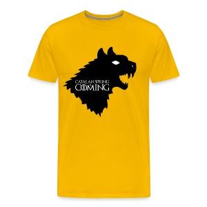 catalan spring is comming - Camiseta premium hombre