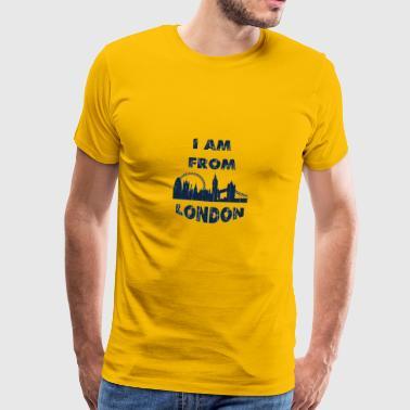 De Londres soy de - Camiseta premium hombre