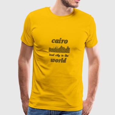 Kair Najlepsze miasto na świecie - Koszulka męska Premium