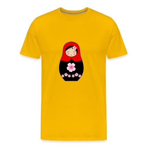 Matroschka Puppe Rot - Männer Premium T-Shirt