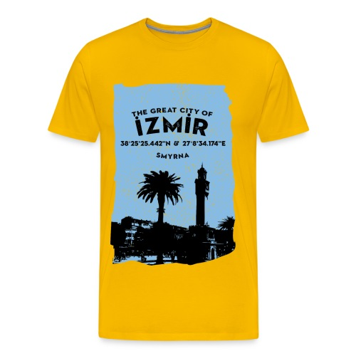 City of Izmir - Männer Premium T-Shirt