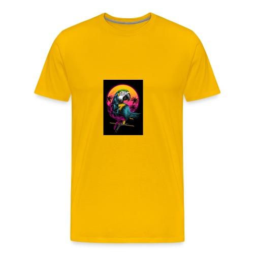 Papagei Vice City - Männer Premium T-Shirt