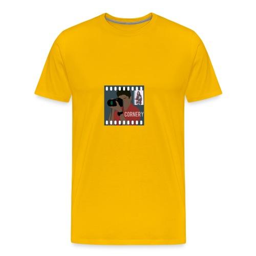 cornery - Maglietta Premium da uomo