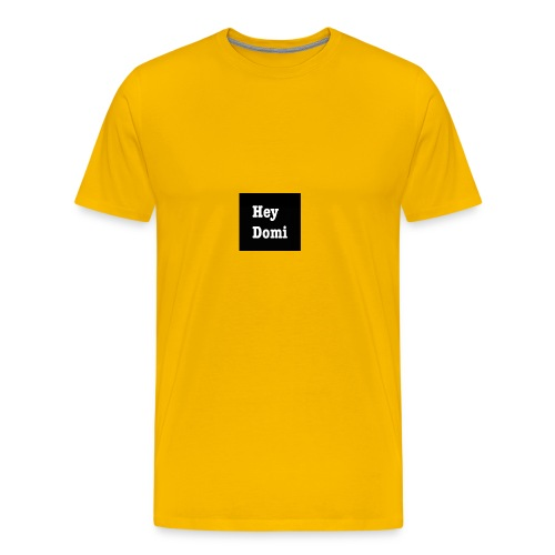 Hey Domi - Männer Premium T-Shirt