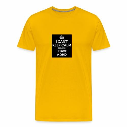adhd - Premium-T-shirt herr
