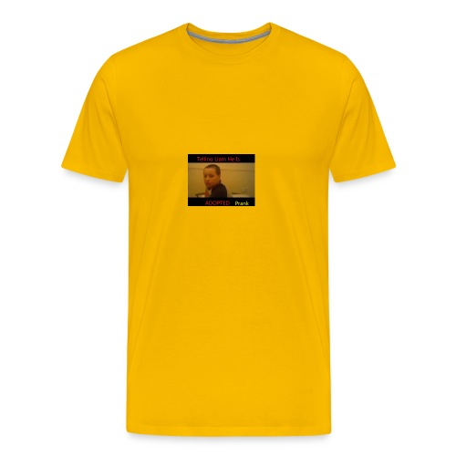 Telling Liam He Is Adopted - Men's Premium T-Shirt