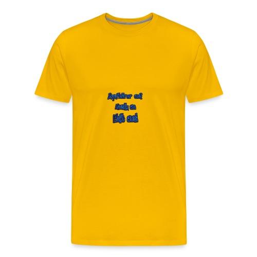 Kopfhörer auf - Männer Premium T-Shirt