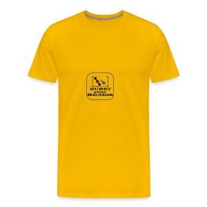 burst your harddisk - Mannen Premium T-shirt