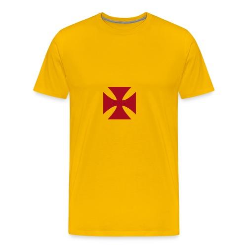 Cruz de malta - Camiseta premium hombre