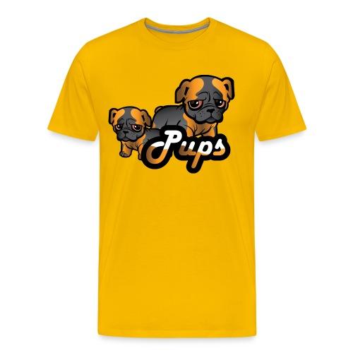 Pups - Premium T-skjorte for menn