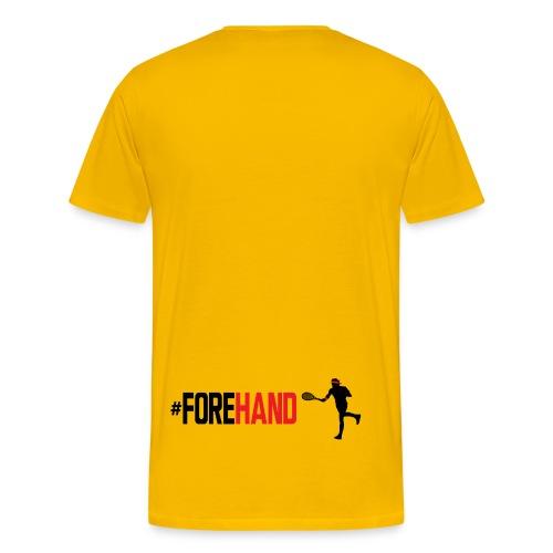 Tennis #Forehand - Maglietta Premium da uomo